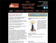 Tablet Preview of manifesttheatre.co.uk